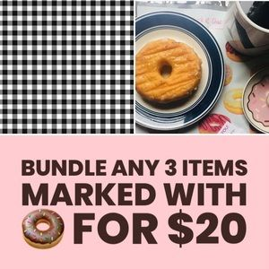 All Items marked with 🍩 • Bundle 3 for $20